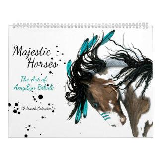 Majestic Horses The Art of AmyLyn Bihrle Calendar