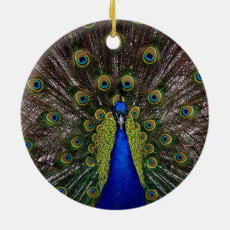 Majestic Indian Peacock Christmas Tree Ornaments