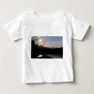 Majestic Indiana Sunset Baby T-Shirt