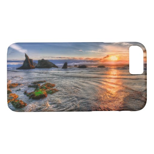 Majestic Island Sea Bay Sunset iPhone 8/7 Case