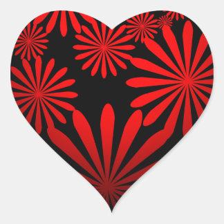 Majestic Island Heart Sticker