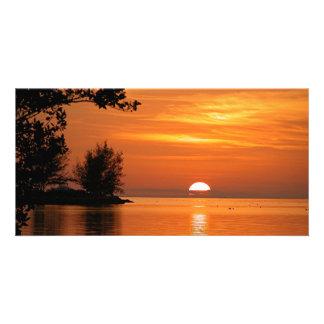 Majestic Key West, Florida Sunset photo card