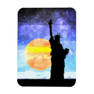 Majestic Lady Liberty Magnet