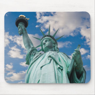 Majestic Lady Liberty Mouse Pad