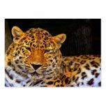 Majestic Leopard Business Card