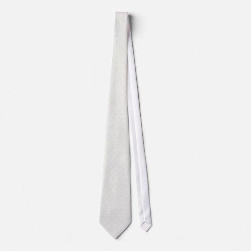 Majestic light grey flowers on white background tie