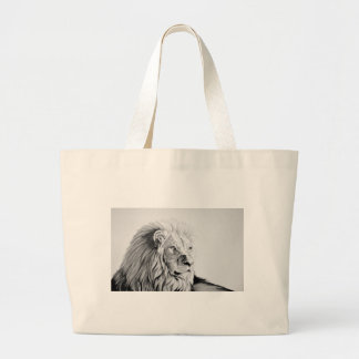 Majestic Lion Tote Bags
