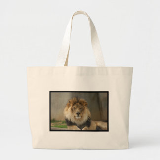 MAJESTIC LION GIFTS CANVAS BAGS