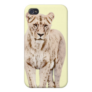 Majestic Lioness Cases For iPhone 4