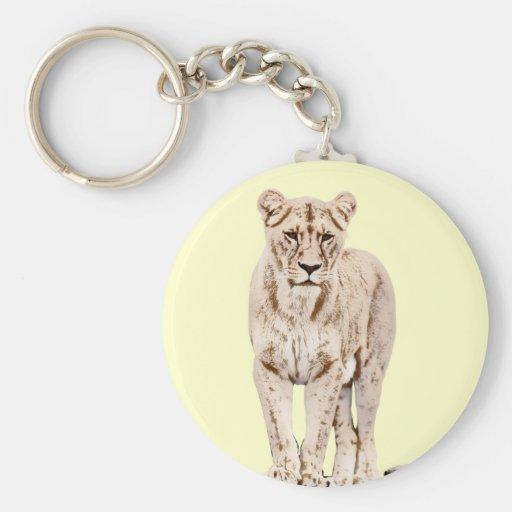 Majestic Lioness Keychain