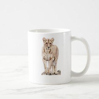Majestic Lioness Mugs