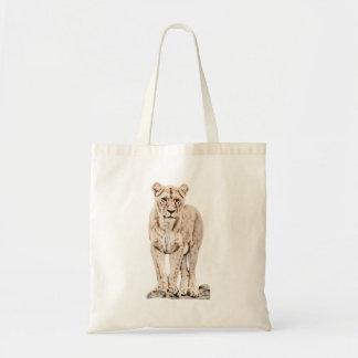 Majestic Lioness Tote Bag
