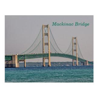 Majestic Mackinac Bridge Postcard