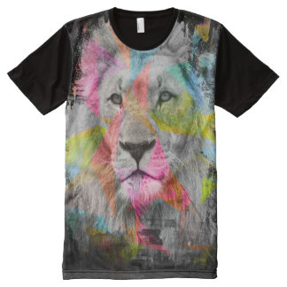 Majestic male lion All-Over-Print shirt
