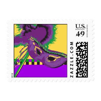 Majestic Mask Postage Stamp