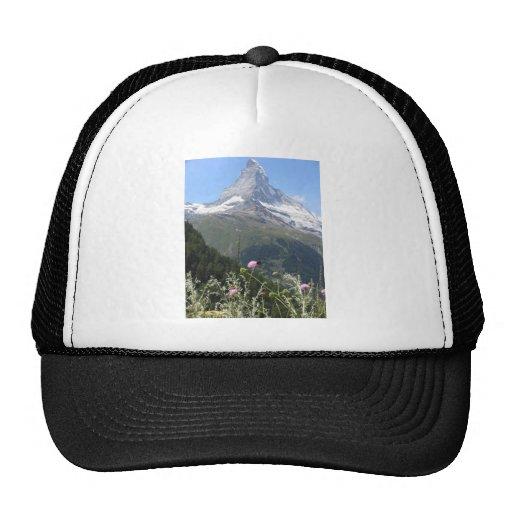 Majestic Matterhorn Mountain Trucker Hat