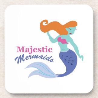 Majestic Mermaids Drink Coaster