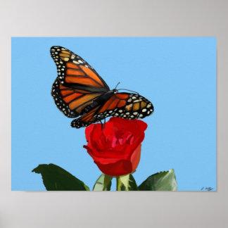 Majestic Monarch Poster