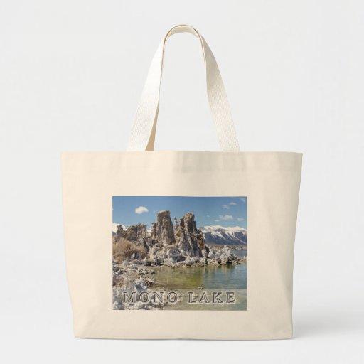 Majestic Mono Lake Jumbo Tote Bag