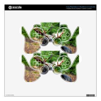 Majestic Moose Meadow PS3 Controller Skin