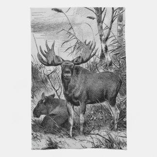 Majestic Moose ~ Richard Friese Hand Towels