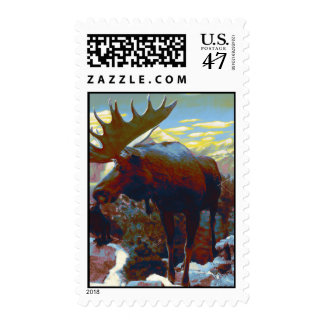 Majestic Moose Stamps
