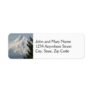 Majestic Mount Hood Return Address Labels