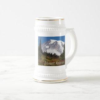 Majestic Mount Rainier Photo Beer Stein
