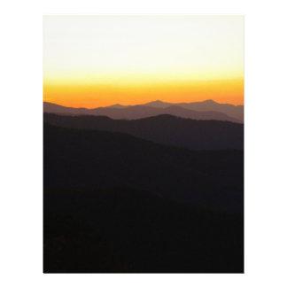 Majestic Mountains Letterhead