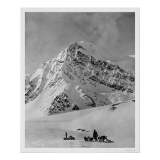 Majestic Mt. McKinley 1908 Poster