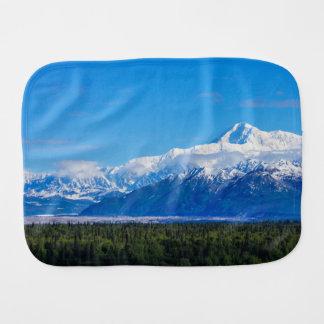 Majestic Mt McKinley Baby Burp Cloth