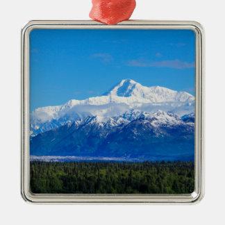 Majestic Mt McKinley Metal Ornament