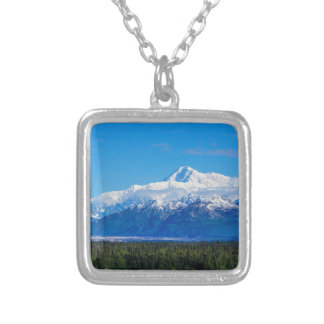 Majestic Mt McKinley Silver Plated Necklace