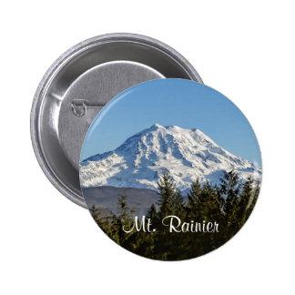 Majestic Mt. Rainier Buttons