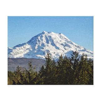 Majestic Mt Rainier Canvas Print