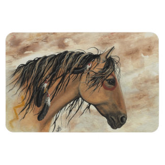 Majestic Mustang Horse by BiHrLe Magnet