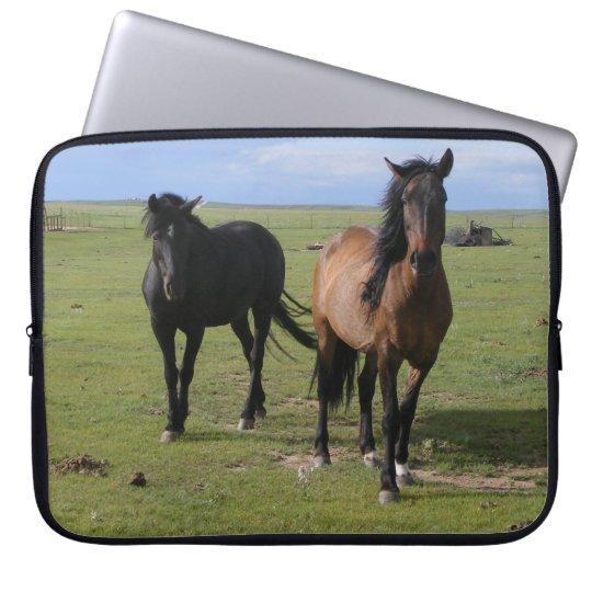 Majestic Navajo Mustangs Computer Sleeve