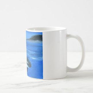 Majestic orca whale coffee mug