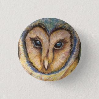 Majestic Owl Button