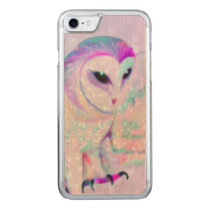 Majestic Owl Carved iPhone 8/7 Case