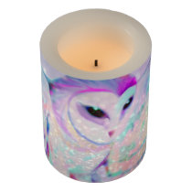 Majestic Owl Flameless Candle