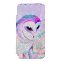 Majestic Owl iPhone SE/5/5s Wallet Case