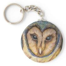 Majestic Owl Key Chain