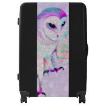 Majestic Owl Luggage