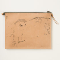 Majestic Owl Travel Pouch