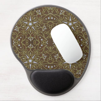 majestic pattern D Gel Mouse Pad