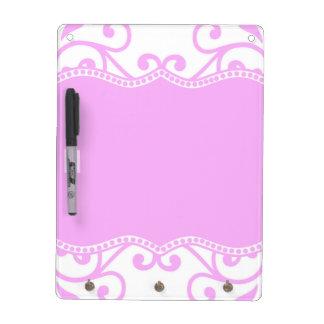 Majestic Pink Dry-Erase Board