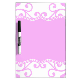 Majestic Pink Dry-Erase Whiteboard