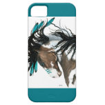 Majestic Pinto Horse by Bihrle iPhone SE/5/5s Case