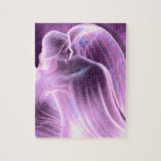 Majestic Purple Angel Puzzle